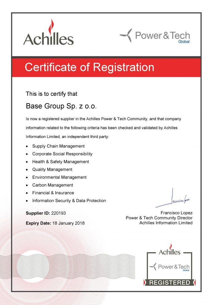 Certyfikowany dostawca spawanych konstrukcji