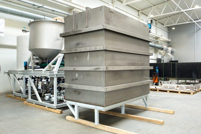 konstrukcje dla przemysłu chemicznego