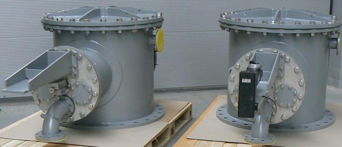 Spawane konstrukcje do wymiany wody balastowej