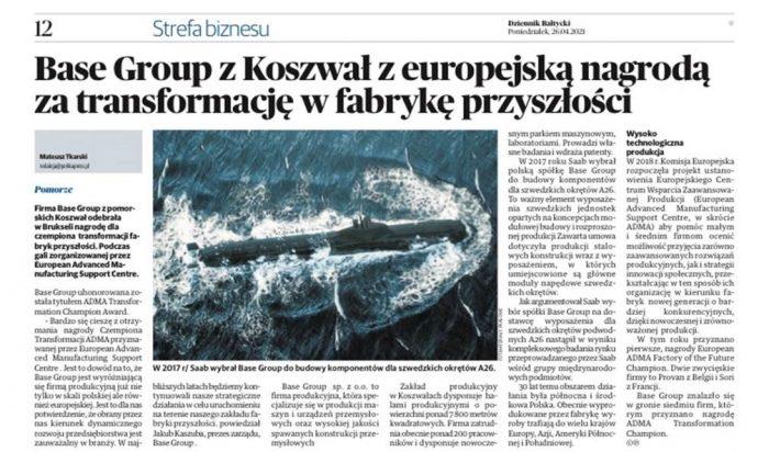 base group adma dziennik bałtycki
